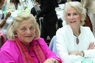 Dame Vivien Duffield and Robin Hambro