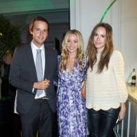 Charlie Gilkes, Noelle Reno and Louise Roe