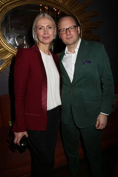 Christiane Arp and Moritz von Laffert
