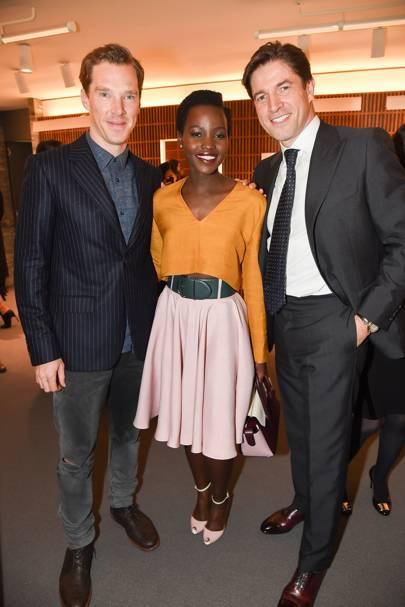 Frederic de Narp, Benedict Cumberbatch and Lupita Nyongo