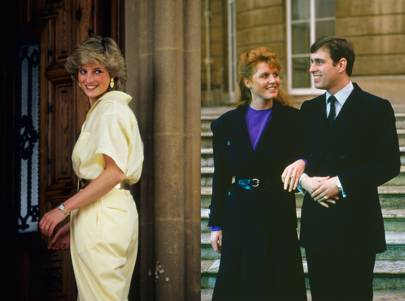 Diana, Princess of Wales - Sarah Ferguson and Prince Andrew