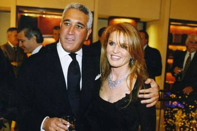 Lawrence Stroll and Sarah, Duchess of York