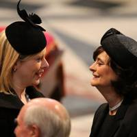 Ffion Hague and Cherie Blair