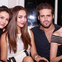Victoria Gucci, Irina Ostroukhova, Spencer Matthews and Emma Miller