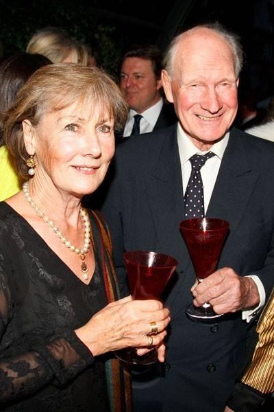 Patti Palmer-Tomkinson and Charles Palmer-Tomkinson