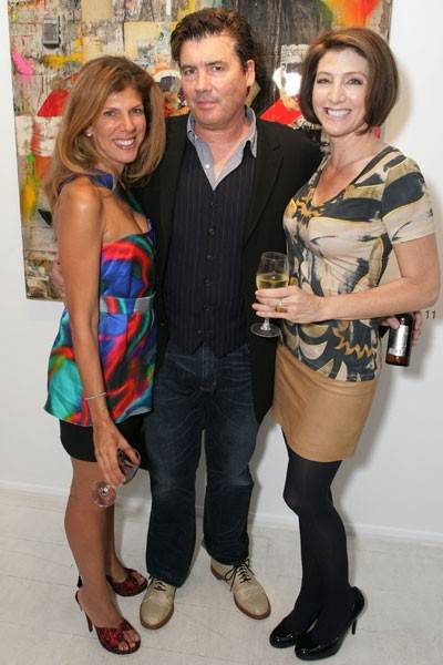 Sandra Shashou, Deborah Brown and Greg Miller