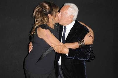 Tina Turner and Giorgio Armani