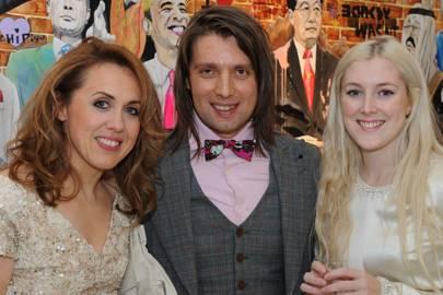 Lisa Redman, Samir Ceric and Amelia Doe