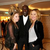 Katrina Boorman, Ozwald Boateng and Kim Cattrall
