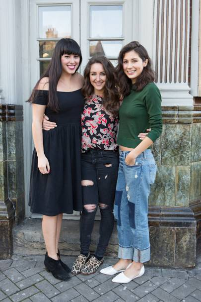 Melissa Hemsley, Natasha Corrett and Jasmine Hemsley