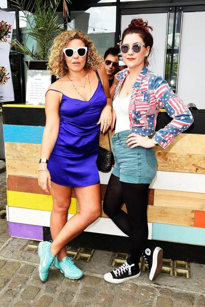 Margot Bowman and DJ Moxie