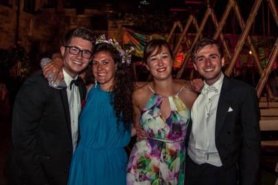 James Hart, Felicity Burgess, Emma Hawcroft and Samuel Harper-Booth