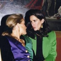 Baroness Benita von Maltzahn and Princess Karl Auersperg-Breünner