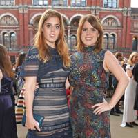 With Princess Beatrice at the 2017 annual V&A Summer Party