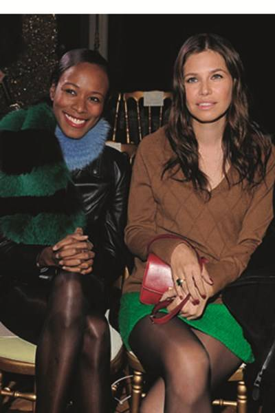 Shala Monroque and Dasha Zhukova