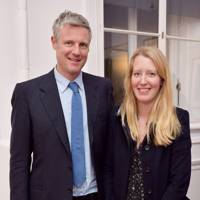 Zac Goldsmith and Alice Miranda Rothschild
