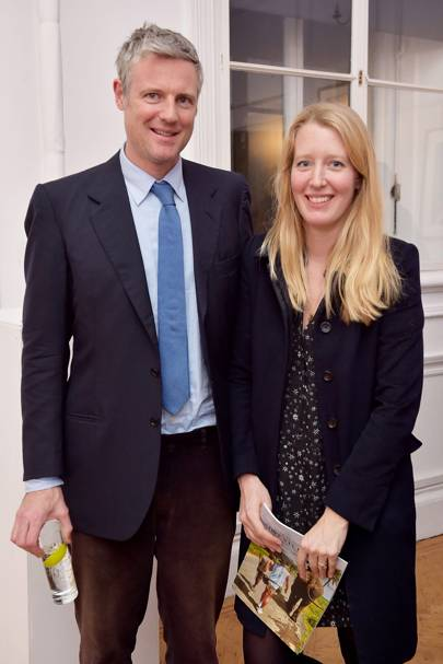 Zac Goldsmith and Alice Goldsmith