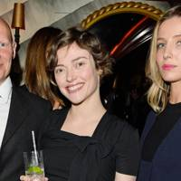 Dominic Burns, Camilla Rutherford and Annabelle Wallis