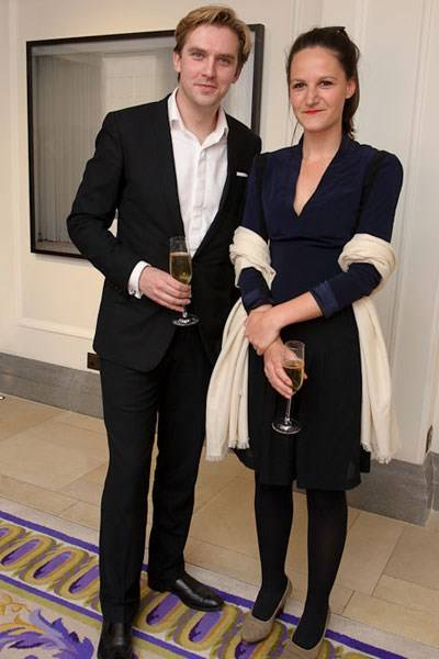 Dan Stevens and Noemie Goudal