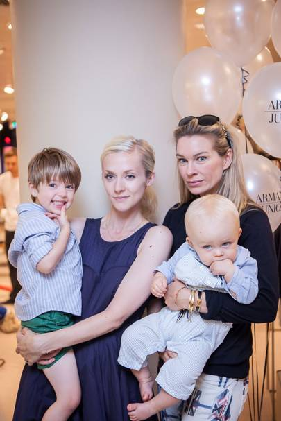 Dylan Denton, Portia Freeman, Pippa Vosper and Astor Vosper