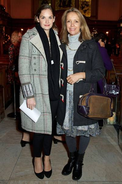 Ruth Wilson and Sabrina Guinness