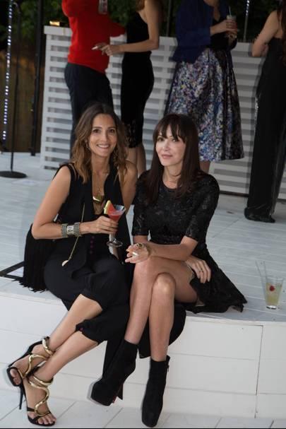 Annabelle Neilson and Astrid Muñoz