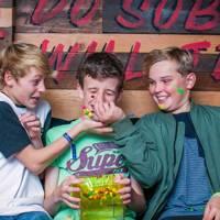 Alex Coulson, Luke Parsons and Joseph Bentley