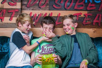 Alex Coulson, Luke Parsons and Joseph Bentley