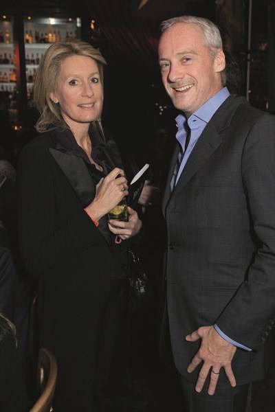 Viscountess Cowdray and Anton Bilton