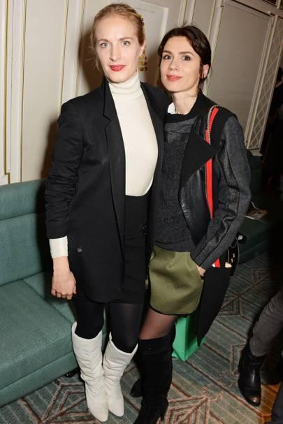 Polly Morgan and Lara Bohinc