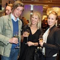 Prince Maximilian zu Salm-Horstmar, Linda Branson and Sophie Jones