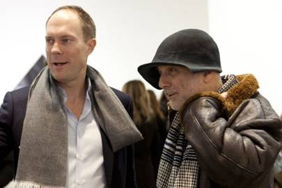 Harry Blain and Ron Arad