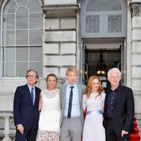 Bill Nighy, Margot Robbie, Domhnall Gleeson, Rachel McAdams and Richard Curtis
