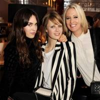 Tallulah Harlech, Edie Campbell and Sophia Hesketh