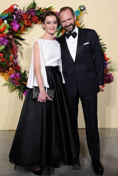Aurélie Dupont and Ralph Fiennes