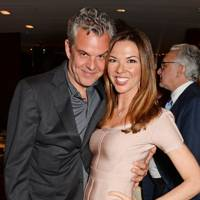 Danny Huston and Heather Kerzner