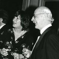 Mrs Andrew Clowes and Lord Alastair Gordon