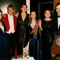 Tuppence Mellish, Rollo Uloth, Caitlin Powell, Dhileas Heywood, Charlotte Miller and Arthur Russell