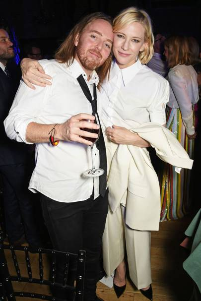 Tim Minchin and Cate Blanchett