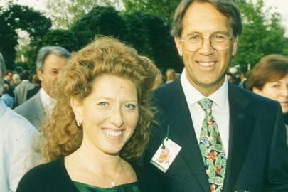 Kelly Hoppen and Ed Miller