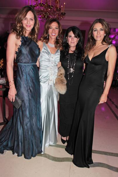 Trinny Woodall, Heather Kerzner, Monica Lewinsky and Elizabeth Hurley