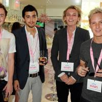 Francis Boulle, Tristan Marmont, Jamie Campbell Bower and Jamie Laing