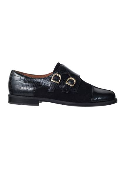 Leather shoes, £175, by Russell & Bromley