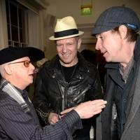 Bernard Rhodes, Paul Simonon and Rhys Ifans