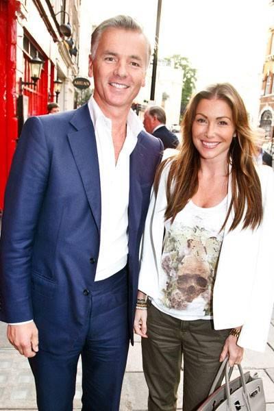 Giles Barker and Jayne Blight