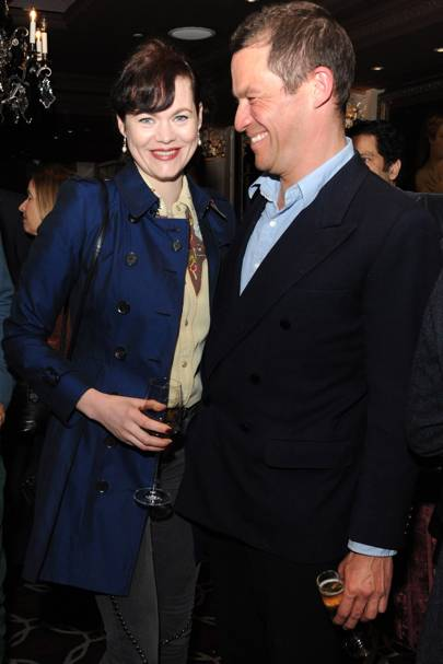 Jasmine Guinness and Dominic West