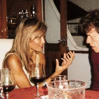 Mick Jagger and Simone Abdelnour