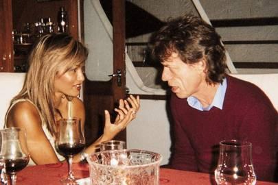 Mick Jagger and Simone Abdelnour