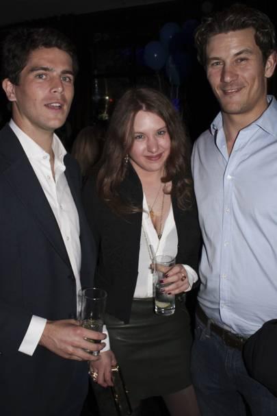 James Robson, Georgina Stewart and Ed McDermott