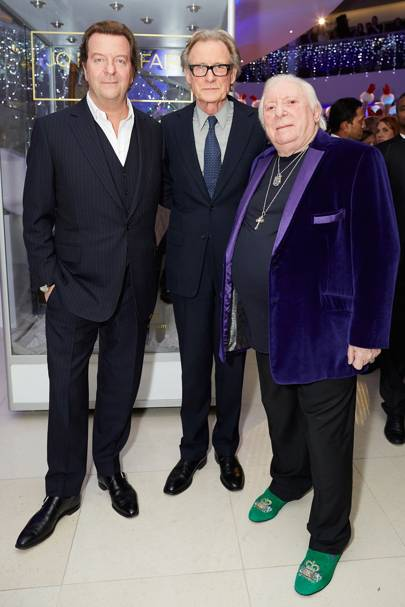Mark Steinberg, Bill Nighy and Terence Cole